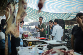 "This bazaar features a part in which famous Iranian foods such as ""Kalle Pache"", ""Sirabi"", ""Liver"", ""Jaghor Baghor"" and different kinds of kebab are cooked."