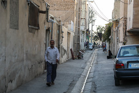 This is Maher Alley, Turquzabad District of Tehran, where Israeli Prime Minister mentioned it during his speech at UN General Assembly, but there is no secret atomic warehouse!