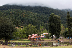 Beautiful Estakhrgah Village of Gilan province / You will surely have a pleasant journey there with the beauty of the old hut near the lake in Estakhrgah Village and the friendly villagers.