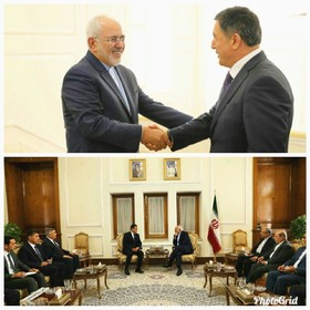 Iranian FM meets with incoming SCO Secretary General