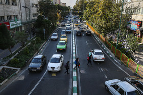 The view of western Golbarg Street from Nabovvat Square / Golbarg Street, which is located between Tehranpars and Majidieh neighbourhoods, is a beautiful street with so many trees. It is six kilometers in length.