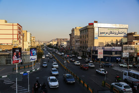 The intersection of Ayat and Resalat streets which is known as Sarsabz Junction.