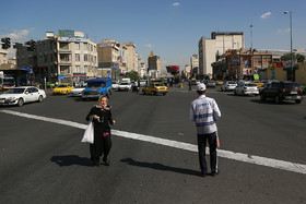 This is the intersection of Ayat and Damavand streets located in the south of Narmak Neighbourhood.