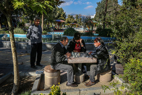 "Nabovvat Square, which is known as ""Haft Houz"", is a great place for having fun in Narmak Neighbourhood."