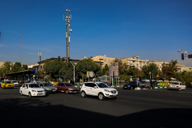 The intersection of Ayat and Sani streets, in which there were many phone booths, is a major place in Narmak Neighbourhood.