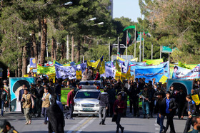 A demonstration was held on National Day of Students and National Day of Fighting Global Arrogance in Birjand City.