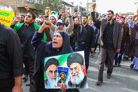 A demonstration was held on National Day of Students and National Day of Fighting Global Arrogance in Qom City.