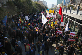 A demonstration was held on National Day of Students and National Day of Fighting Global Arrogance in Mashhad City.