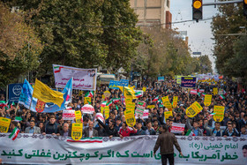 A demonstration was held on National Day of Students and National Day of Fighting Global Arrogance in Urmia City.