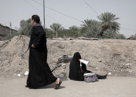 There are social problems such as beggary in Arba'een March.