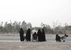 Since there are so many pilgrims in Iraq, using the transportation becomes difficult.