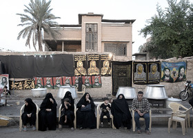 During Muharram and Safar months, the everyday life of Iraqis changes into the dominant atmosphere which is mourning for Imam Hussain (PBUH) and helping his pilgrims.
