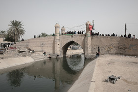 The route in which pilgrims get to Karbala from Baghdad City
