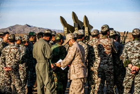 """The press conference on joint air defense manoeuvre called """"Velayat 97"""" was held on Monday November 5."""