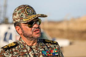 """Brigadier General Alireza Sabahi Fard / The press conference on joint air defense manoeuvre called """"Velayat 97"""" was held on Monday November 5."""