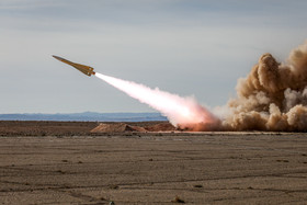 """On the second day of joint air defense manoeuvre called """"Velayat 97"""", some surface-to-air missiles called """"Shalamche"""" were launched and hit the targets successfully."""