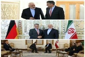 Iran's Zarif, Germany's Gabriel meet in Tehran