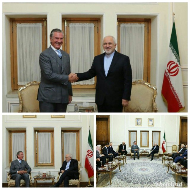 Iran's Zarif meets with Brazil's Senate Foreign Relations Committee chairman