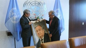 Iran urges UN Secretary General to take stance against US