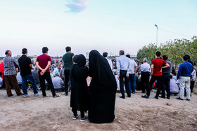 Telgerd Village of Mashhad City / The excitement of Chukhe wrestling have attracted families to watch the competitions.