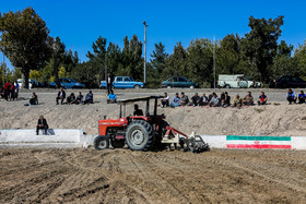 Ferdowsi field / The ground is ploughed before Chukhe wrestling competitions in order not to hurt the wrestlers.