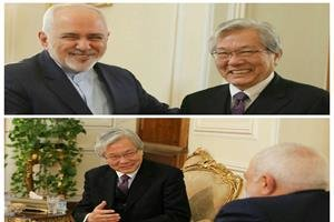 FM Zarif, UN envoy discuss Afghanistan peace in Tehran