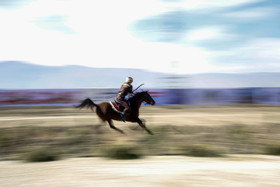 The world horseback archery championship has begun in Shiraz City of Iran.