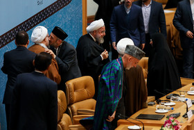 """The 32nd International Islamic Unity Conference began on Saturday November 24 in Tehran under the motto """"Quds, axis of unity among Ummah,"""" with 100 Islamic countries in attendance."""