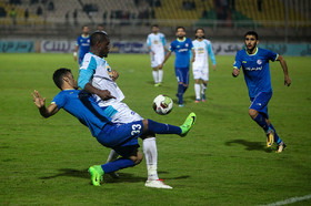 The football match between Esteghlal Khuzestan FC and Esteghlal FC was held at Ahvaz Ghadir Stadium and it was one-nil to Esteghlal FC.