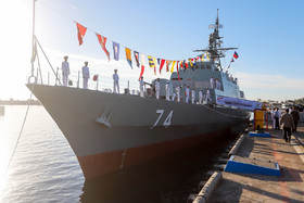 Iran launches advanced Sahand destroyer