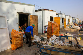 Most of the people who live in Mehmanshahr refugee camp are workers or don't have any jobs.