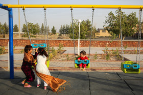 There are facilities such as a school, a health center, a mosque, a bank and a park in Mehmanshahr refugee camp.