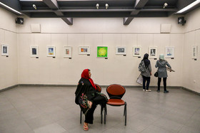 Sheyda Shokravi, a professional painter who was born with no arms, is seen in her gallery, December 3, 2018.