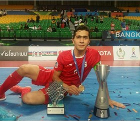 Tohid Lotfi nominated for World's Best Young Player award