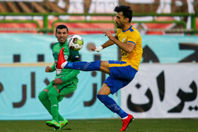 The match between Zob Ahan Isfahan FC and Naft Masjed Soleyman FC, Isfahan City, Foolad Shahr Stadium, December 12, 2018.