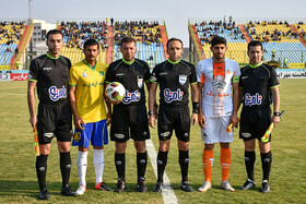 The match between Sanat Naft Abadan and FC and Saipa FC, Abadan City, Takhti Satadum, December 14, 2018.
