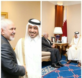 Iran's FM discusses Yemen peace talks with Qatari PM