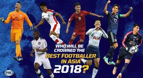 Jahanbakhsh, Beiranvand nominated for Best Footballer in Asia 2018