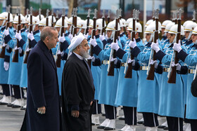 Mr Rouhani meets Erdoğan in Turkey