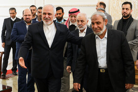 Iranian FM receives head, members of Palestinian parliamentary delegation