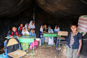 There are 19 students in the school of Ab-Zar Village, Khuzestan province, December 24, 2018.