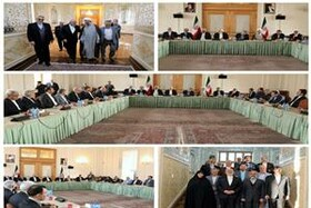 Lawmakers hold talks with FM Zarif, his deputies