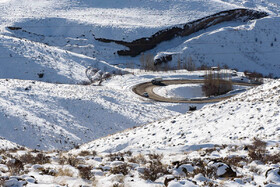 Taleghan's winter landscapes