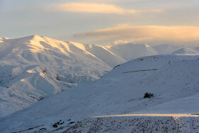 Winter landscapes of Taleghan County, Iran, Alborz province, December 24, 2018.