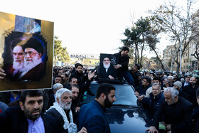 Funeral ceremony of Ayatollah Shahroudi held in Tehran