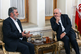 Iran's top diplomat meets PIJ chief