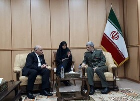 Iran Defense Minister hopes for further victories for Syrian government