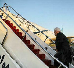 FM Zarif departs for New Delhi