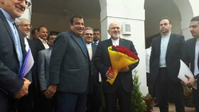 Iran's FM meets Indian Transport Minister/Iran not to wait for Europeans