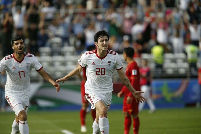 Iran beats Vietnam 2-0, advances to knockout stages of Asian Cup